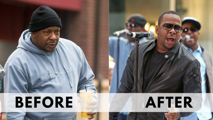 Before After Weight Loss Bobby Brown