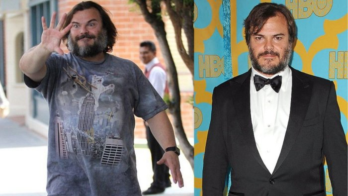 Before and After Jack Black Weight Loss