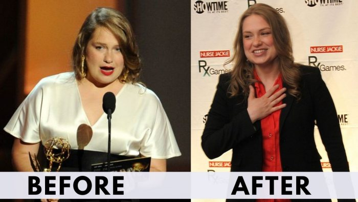 Before and after weight loss Merritt