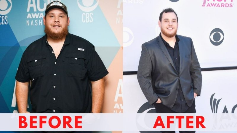 Luke Combs before and after weight loss