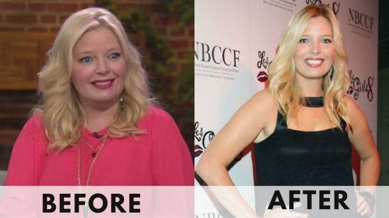 Melissa Peterman before and after