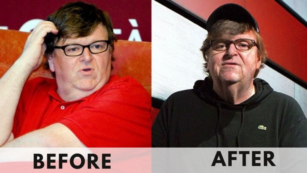 Michael Moore Weight Loss before and after
