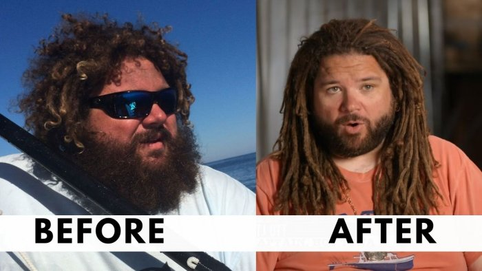 TJ Before and After Weight Loss