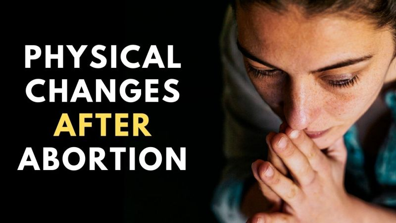 Changes in Body after abortion