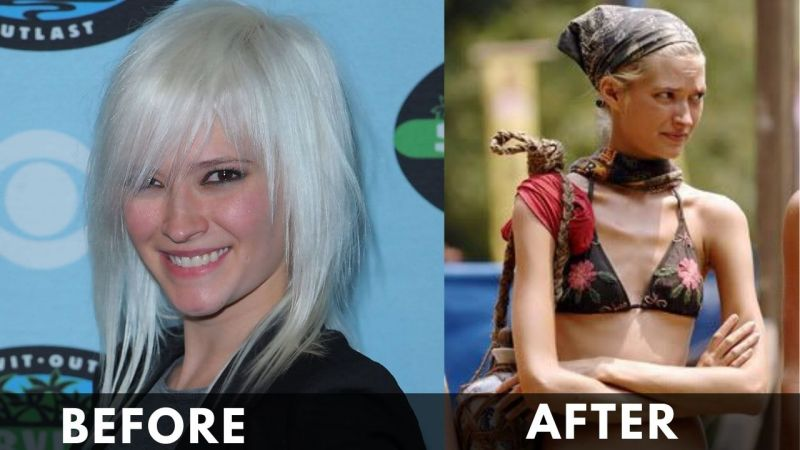 Courtney Yates Before and after