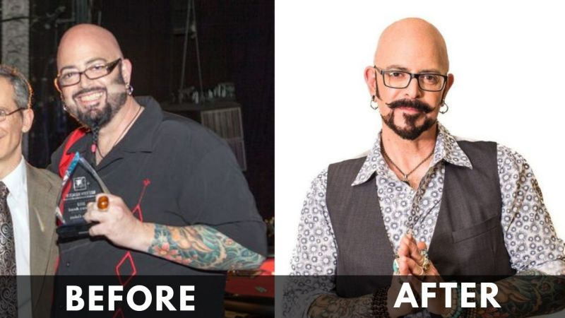 Jackson Galaxy before and after