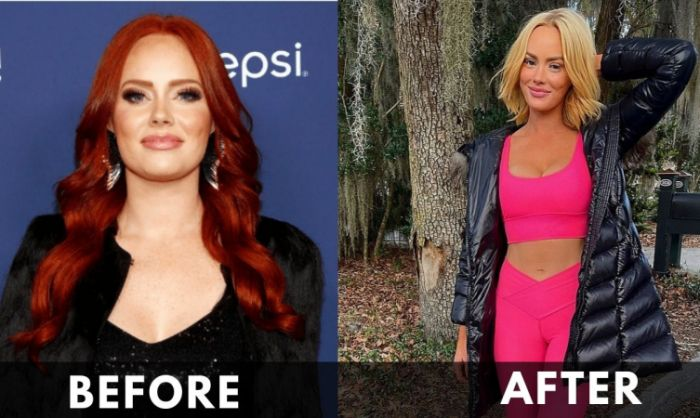 Kathryn Dennis before and after