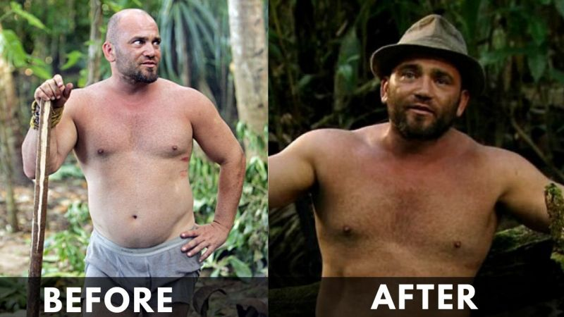 Russell Hantz Before and after weight loss