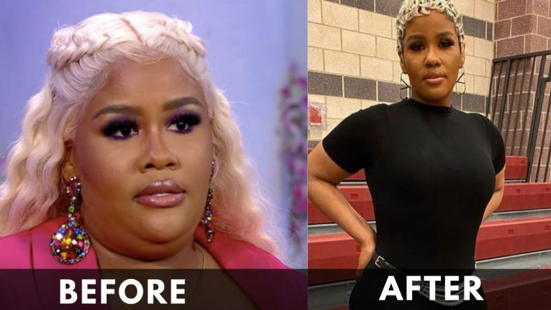 Akbar V before and after Weight Loss