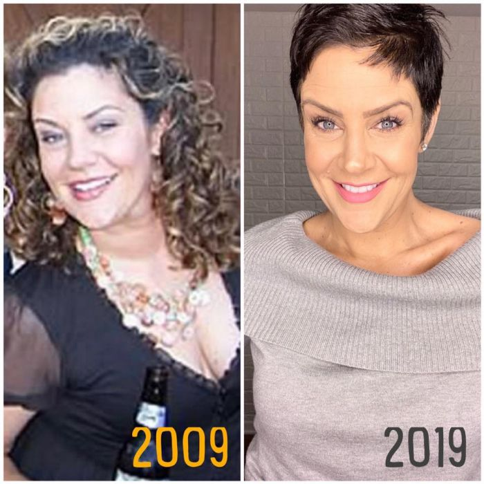 Bitsy Jennings before and after weigh loss