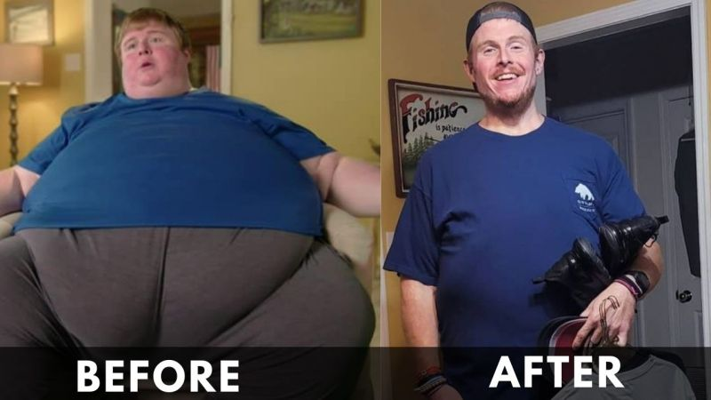 Casey King Before and After weight loss