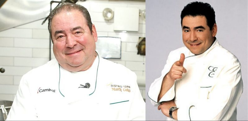Emeril Lagasse before after Weight Loss