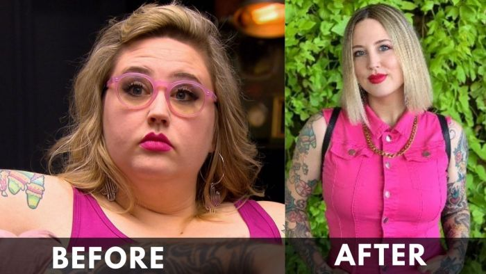 Katie McGowan before after weight loss
