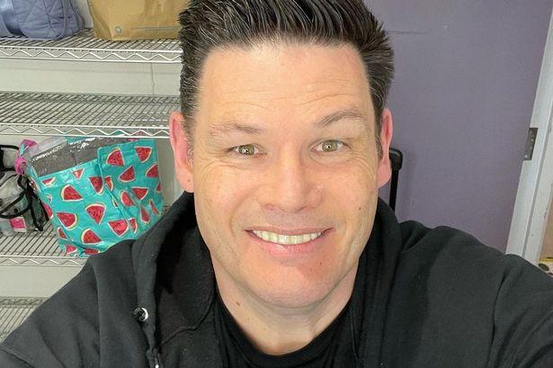 Mark Labbett after Weight Loss