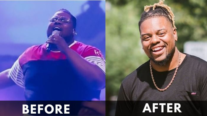 Osby Berry before and after weight loss