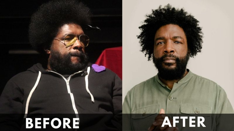 Questlove Before After Weight Loss