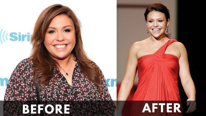 Rachael Ray Before & After Weight Loss