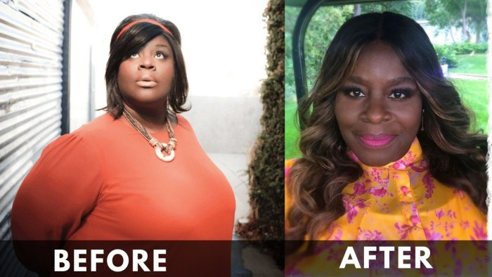 Retta before and after weight loss