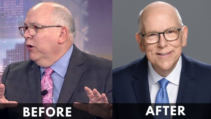 Tom Skilling Before and After weight loss