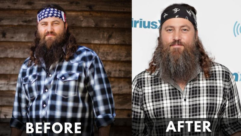 Willie Robertson before after weight loss